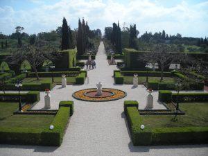 Ba'hai garden near Haifa