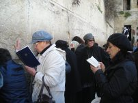 Prayers at Western Wall