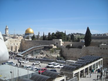 Western wall & Dome on the Rock