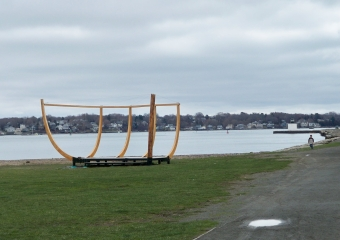Salem Maritime National Historic Site sculpture
