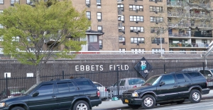 Brooklyn remains of Ebbets Field crop