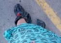 My footgear, day two