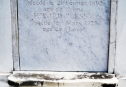 St. Louis Cemetery No. 1: Homer Plessy. As a lawyer and as a minority, I salute him.