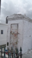 St. Louis Cemetery No. 1: Marie Laveau. No, I didn't mark an X.