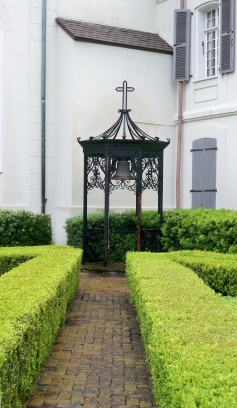 Gazebo inside the Ursuline Convent