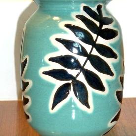 Vase, Parsley Pottery