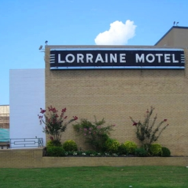 Lorraine Motel, now the National Civil Rights Museum