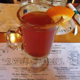 Hot apple cider, Cappy's Chowder House