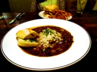 Braised duck & oyster gumbo, Pearl Dive Oyster Palace