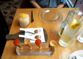 Course 1, Jaleo tasting menu