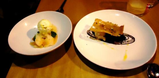 Dessert, Jaleo tasting menu