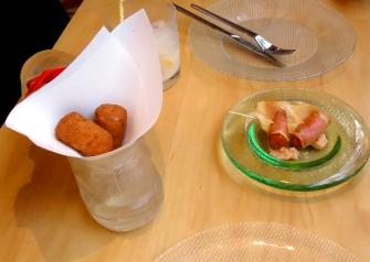 Course 5, Jaleo tasting menu