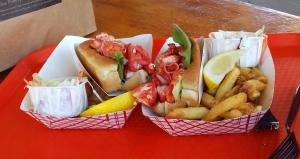 Lobster rolls, Portland Lobster Company