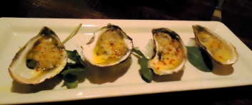 Wood Grilled East Coast Oysters, Pearl Dive Oyster Palace