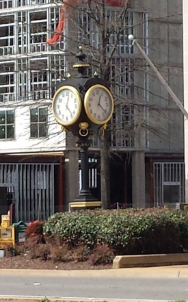 Amtrak Station Clock, Tuscaloosa