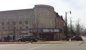 Theater in downtown Tuscaloosa