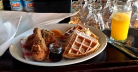Chicken and waffles, Five Bar