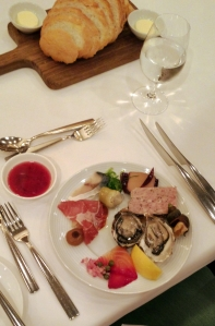 Appetizer bar, The Bostonian, Langham Hotel