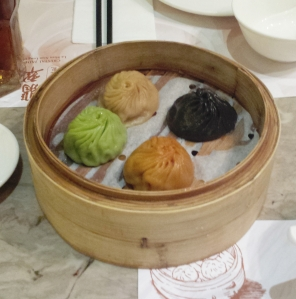 Soup dumplings, Crystal Jade