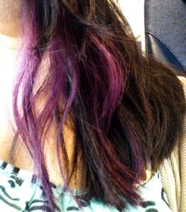 Going purple