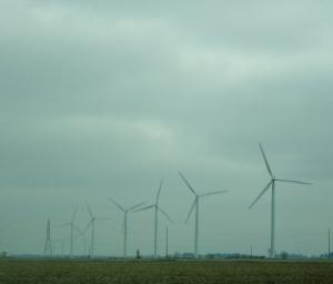 Wind turbines, Indiana
