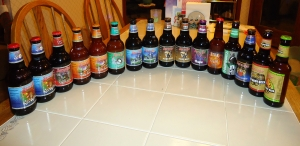 Assorted sodas and beers from Sprecher's in Milwaukee, WI