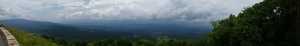 Panorama of Shenandoah Valley, Shenandoah Sky Drive