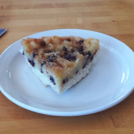Chocolate chip kuchen, Cedar Pass Lodge, Badlands National Park