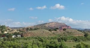 Outcrop north of Albuquerque, NM