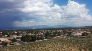 View of Albuquerque from Boca Negra Canyon