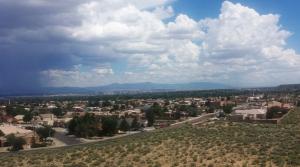 View of Albuquerque from Boca Negra Canyon
