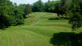 Overhead view of body, Serpent Mound, OH