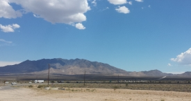Mojave desert near Edwards AFB