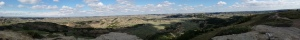 Panorama from Buck Hill, TRNP
