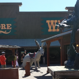 Jackalope at Wall Drug